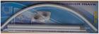 Карниз для в/к дуга хром Zalel 90*90 (белый)