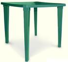 Стол пластиковый квадратный( тёмно зелёный)