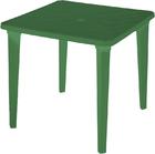 Стол пластиковый квадратный( болотный)