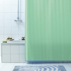 Штора д/ванн 240х200 Rigone зелёная.