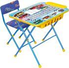 Комплект детской мебели  Nika КУ2П Большие гонки