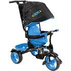 Велосипед детский (арт ВД4) чёрный с голубым