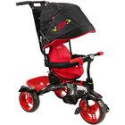 Велосипед детский (арт ВД4) чёрный с красным