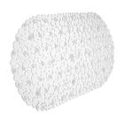 SPA- коврик камешки с ракушками,  69*39см. (прозрачный)