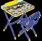 Комплект детской мебели  Nika КУ3 Большие гонки