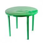 Стол круглый ( тёмно зеленый )
